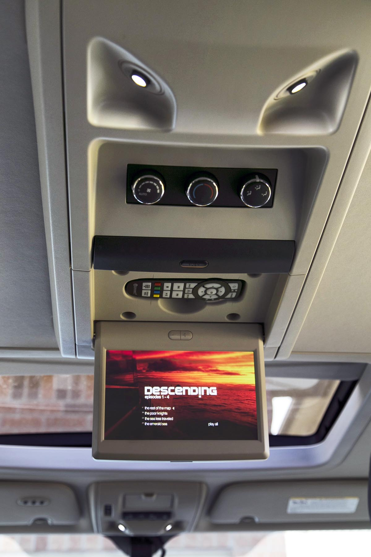 overhead display
