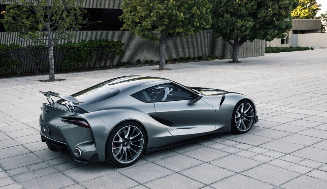 Toyota Sends Second FT 1 Concept To Pebble Beach, Vision GT Concept To GT6 auto news general news