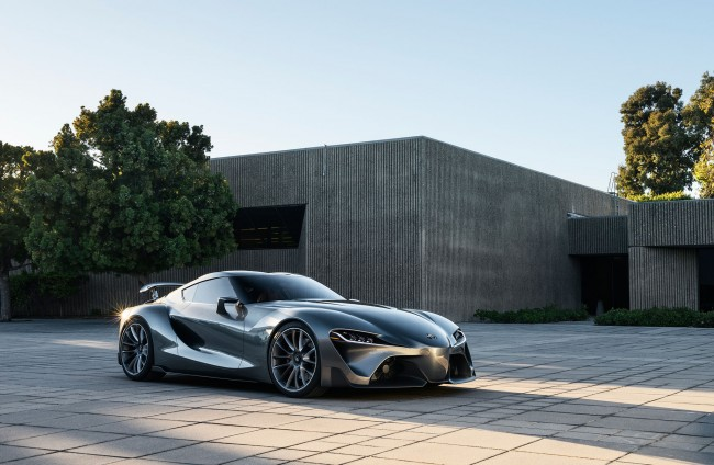 Toyota Sends Second FT 1 Concept To Pebble Beach, Vision GT Concept To GT6 general news auto news