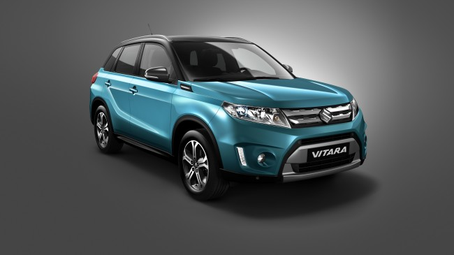 Heres The Brand New Suzuki Vitara We Wont Get general news car culture auto shows auto news 2014 paris motor show 2014 auto shows
