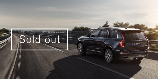 2016 Volvo XC90 Sold Out
