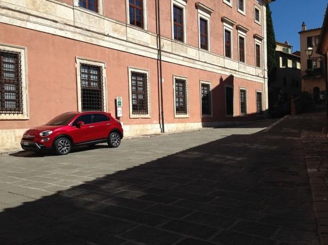 Fiat 500X leak image
