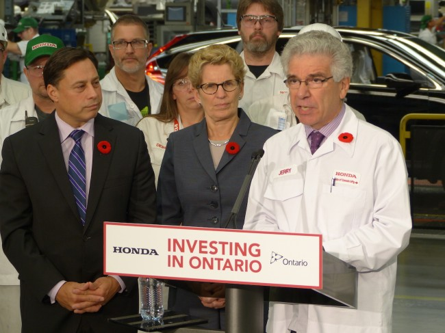 Honda investment announcement_Nov. 6_2014