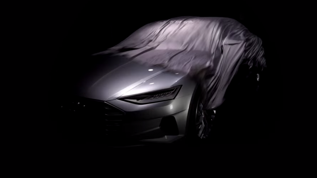Audi A9 Teaser Video Screenshot