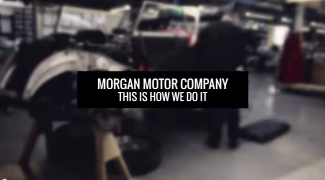 Morgan Motor Company This Is How We Do It Screenshot