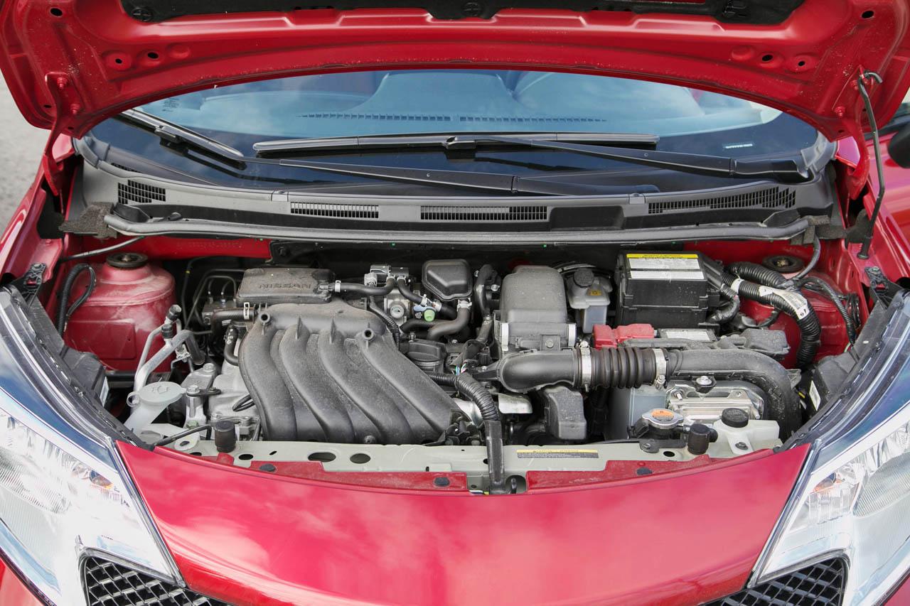versa note nissan sr engine bay autos