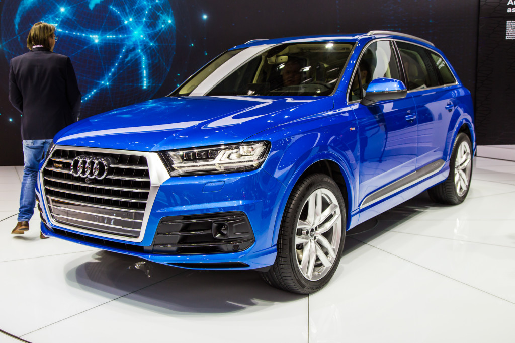 2016 audi q7 at naias. Black Bedroom Furniture Sets. Home Design Ideas