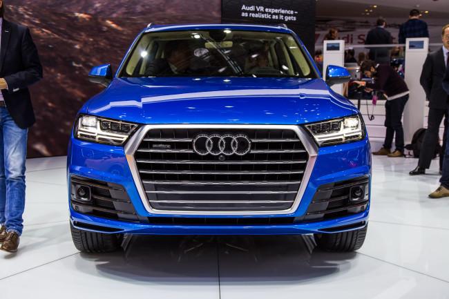 2016 Audi Q7 at NAIAS