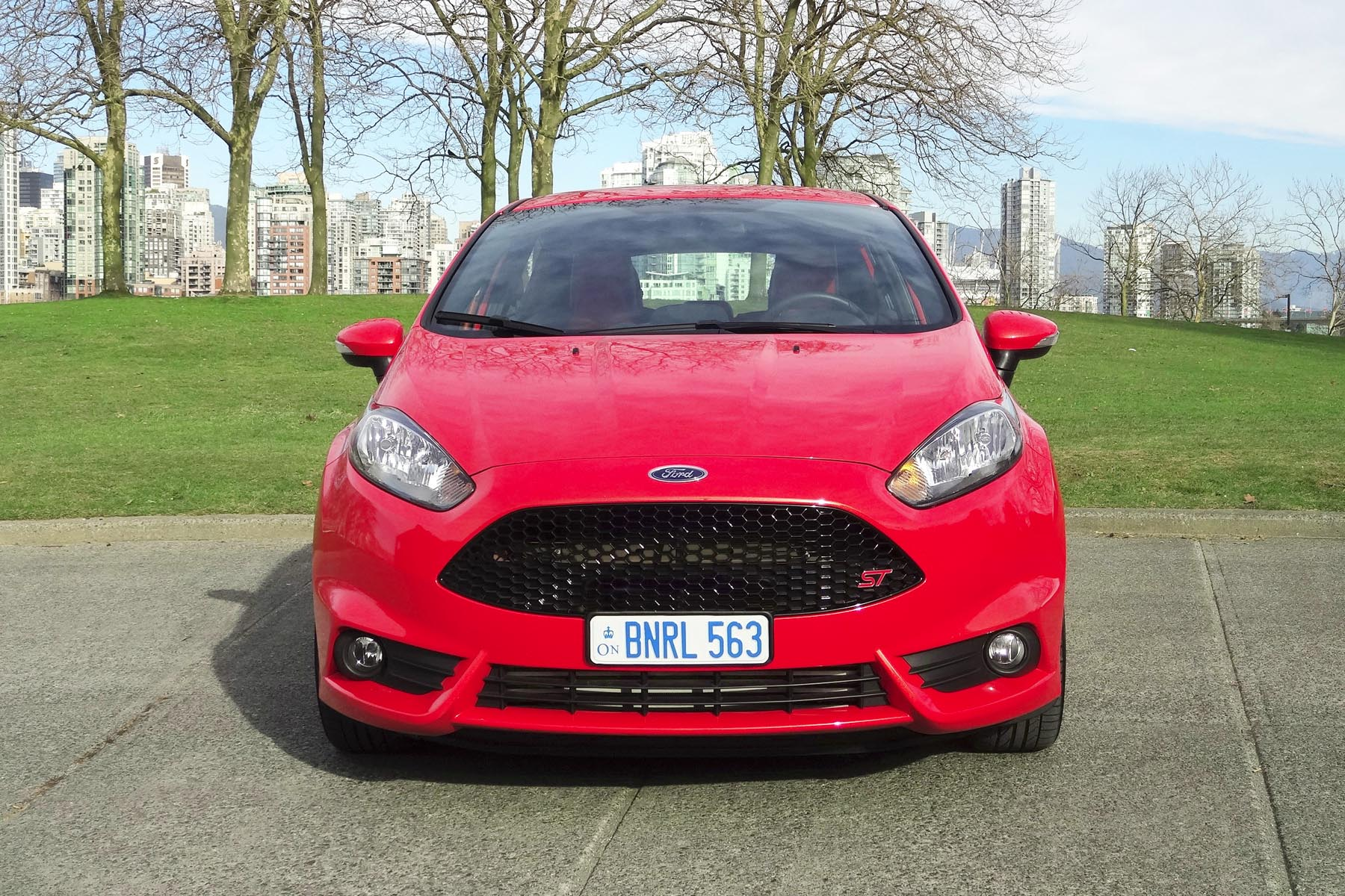 2014 ford fiesta st with european style plate concept. Black Bedroom Furniture Sets. Home Design Ideas