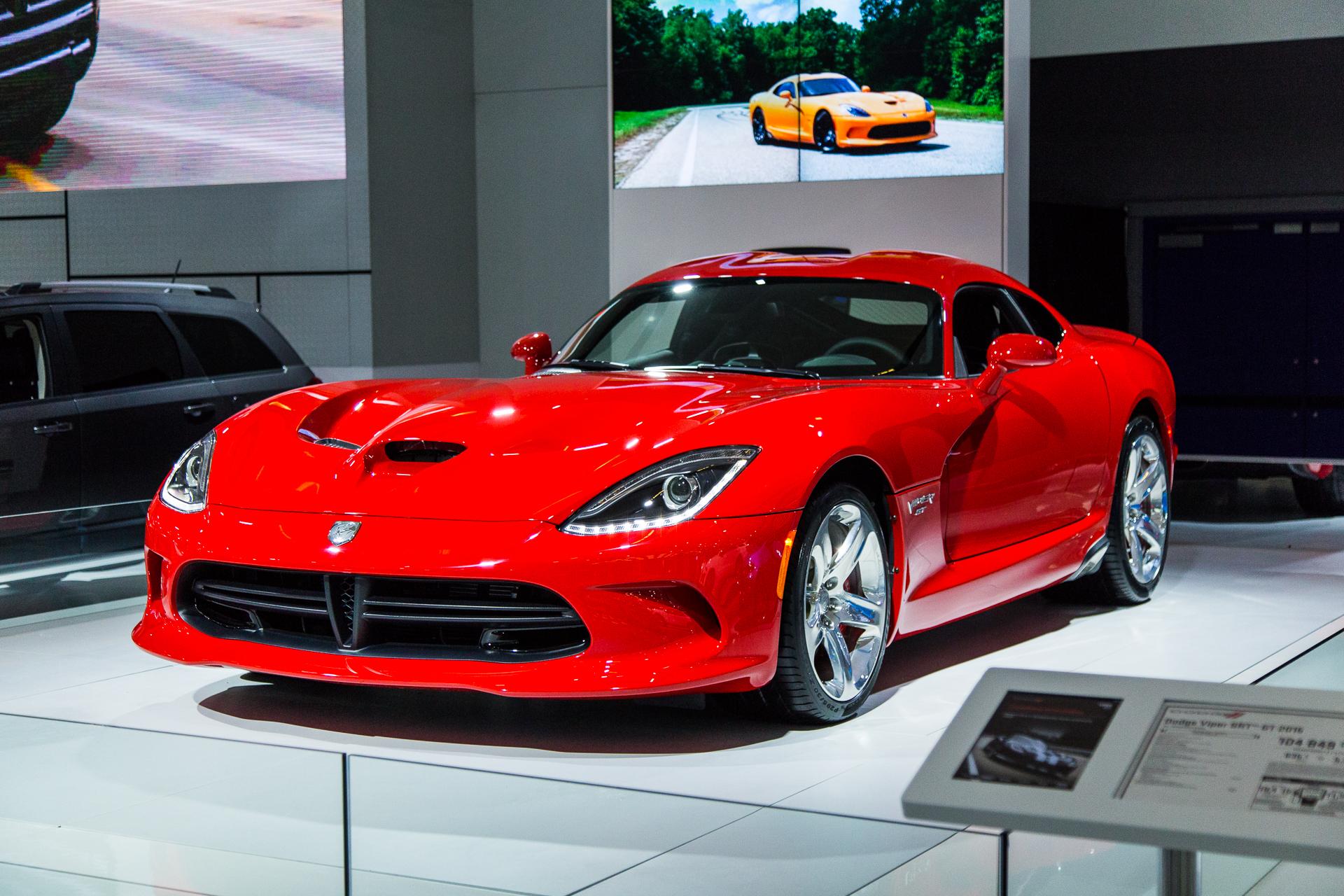 Dodge Viper SRT Montreal International Auto Show Autosca - International autos
