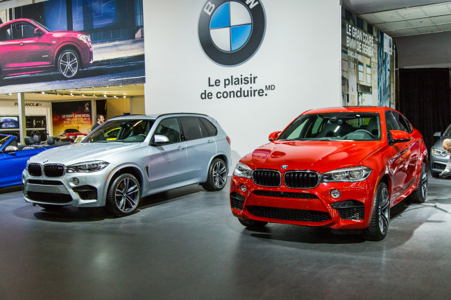2015 BMW X5 M and X6 M - Montreal International Auto Show