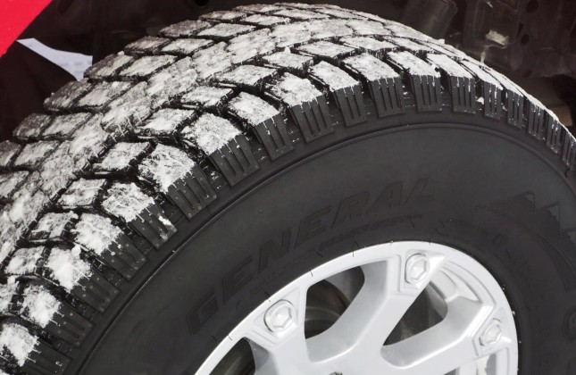 Winter Tire Review General Tire Grabber Arctic Lt Autos Ca
