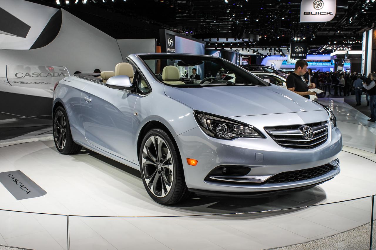 DETROIT: Buick Surprises With Avenir Concept, Cascada ...