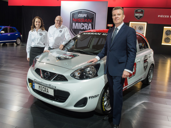 Nissan announces 2015 race calendar for the Nissan Micra Cup