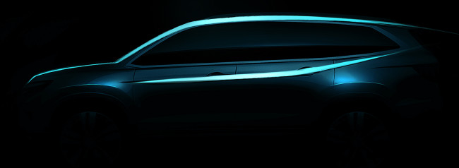 All-New 2016 Honda Pilot SUV to Make Global Debut at 2015 Chicag