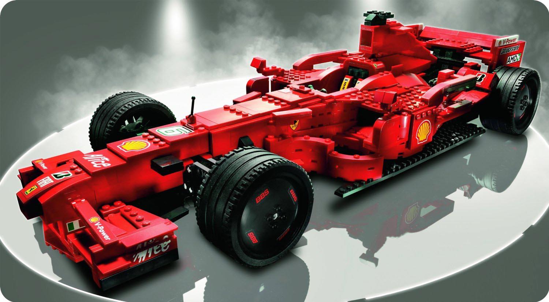 Lego Racers Ferrari F1 Autos Ca
