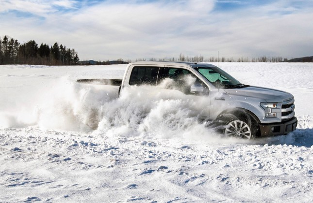 2015 Ford F-150 Winter and Off-Road Event