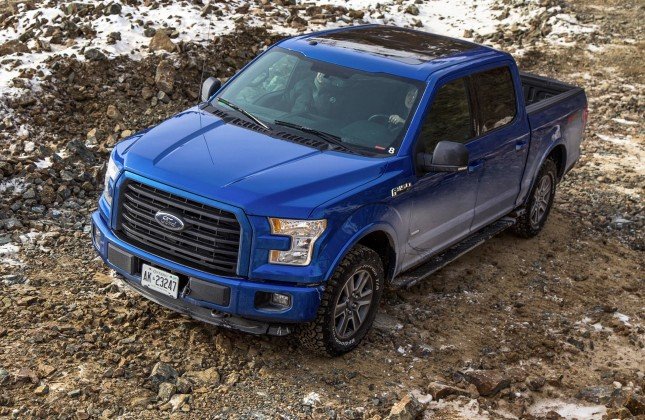 Test Drive 2015 Ford F 150 Off Road And Winter Test
