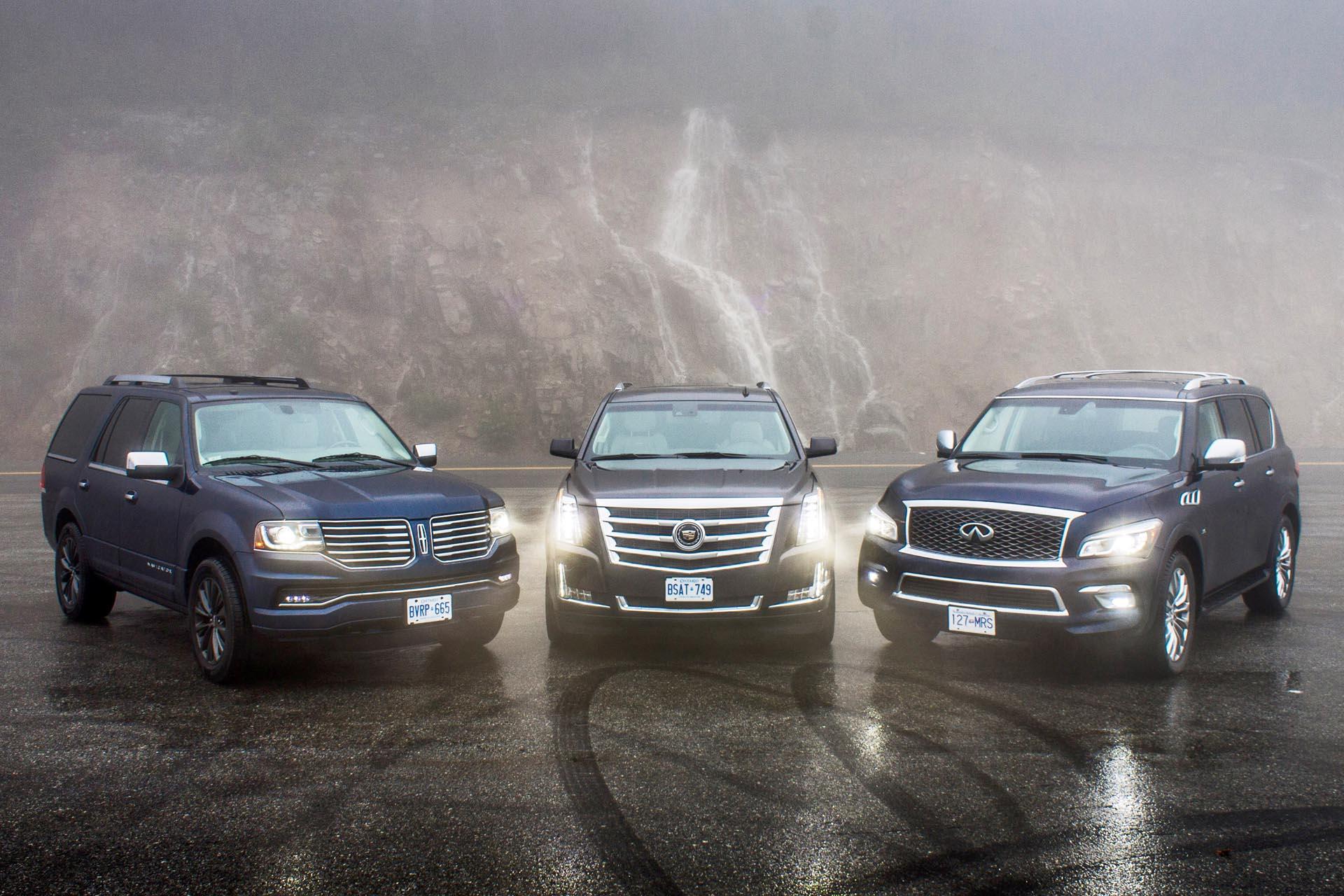 2015 Full-Size Luxury SUV Comparison - Autos.ca