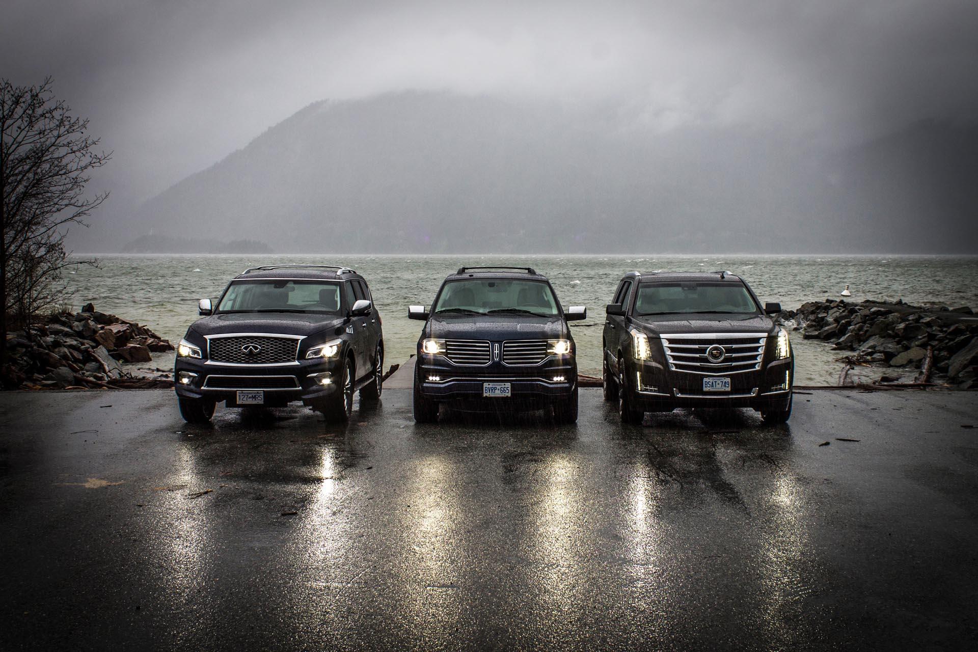 2015 Full-Size Luxury SUV Comparison