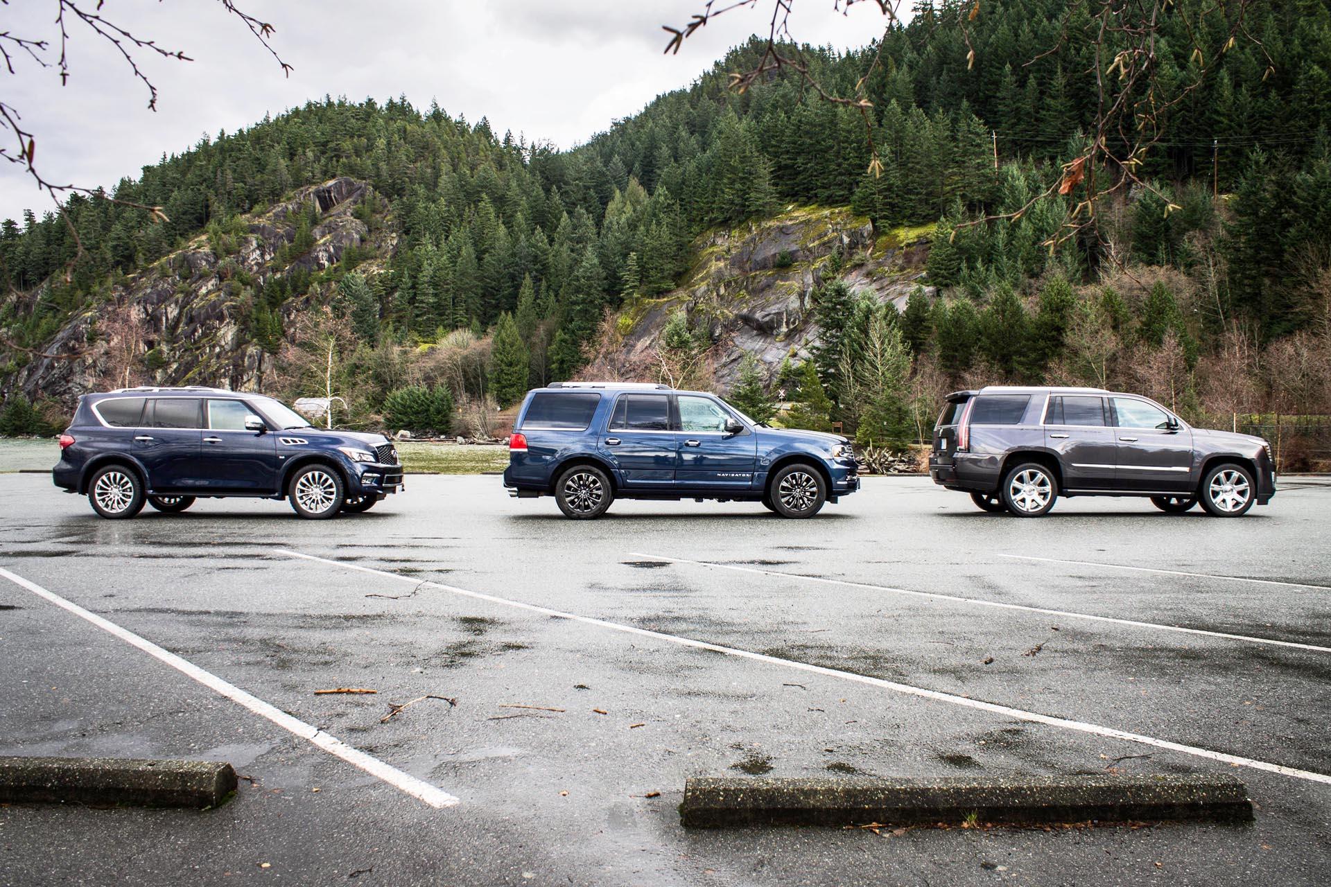 Full Size Luxury Suv Comparison Autos Ca
