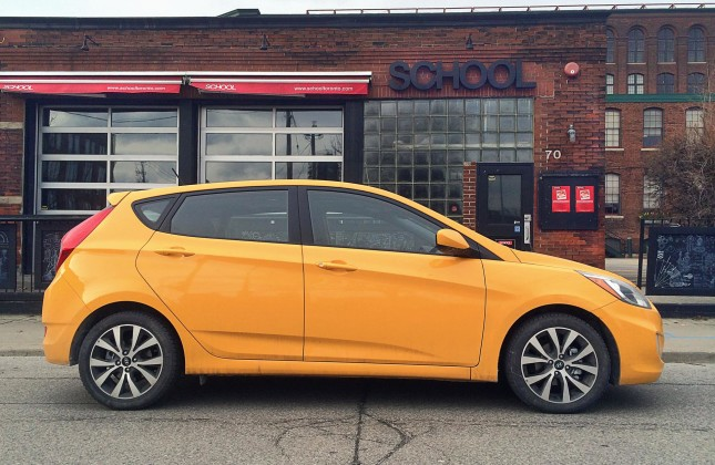 test drive 2015 hyundai accent sport appearance package. Black Bedroom Furniture Sets. Home Design Ideas