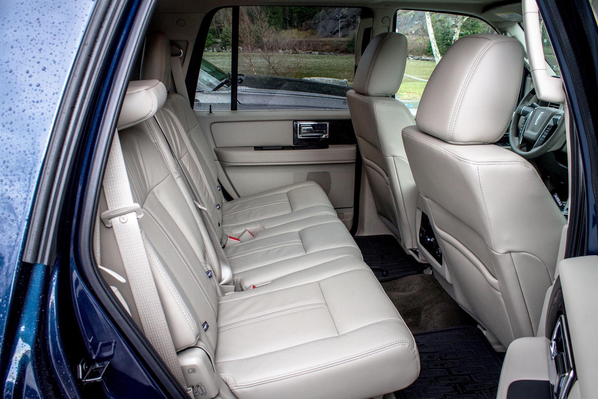 second-row seats