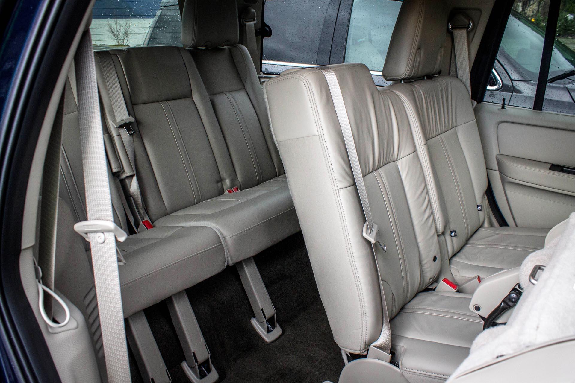 third-row seats