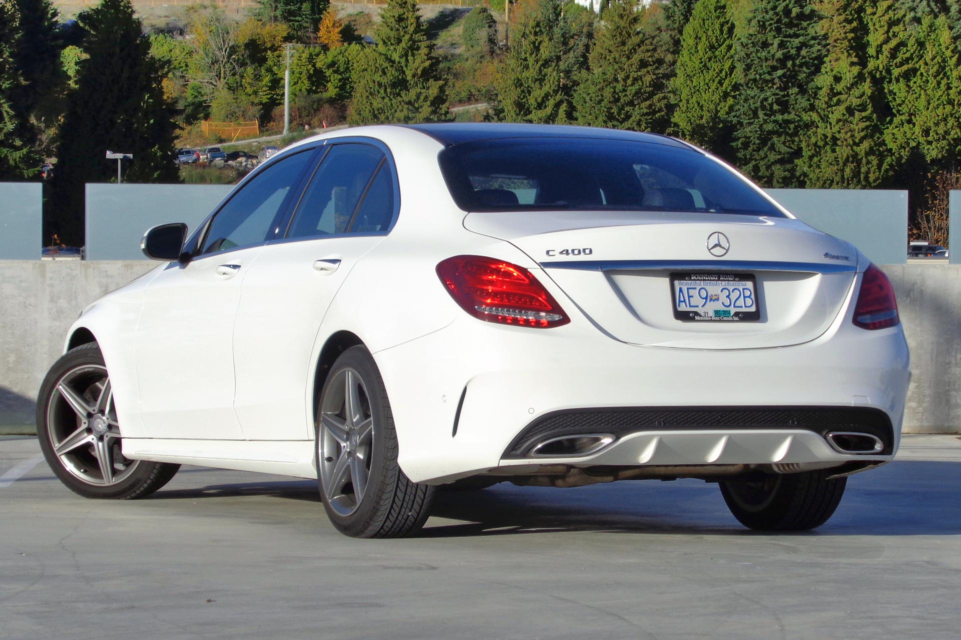 2015 Mercedes Benz C 400 4matic Autos Ca