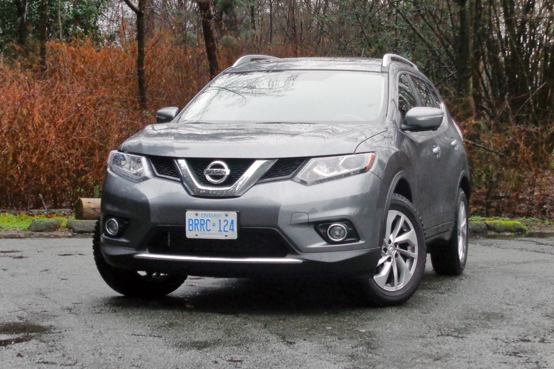 test drive 2015 nissan rogue sl awd. Black Bedroom Furniture Sets. Home Design Ideas