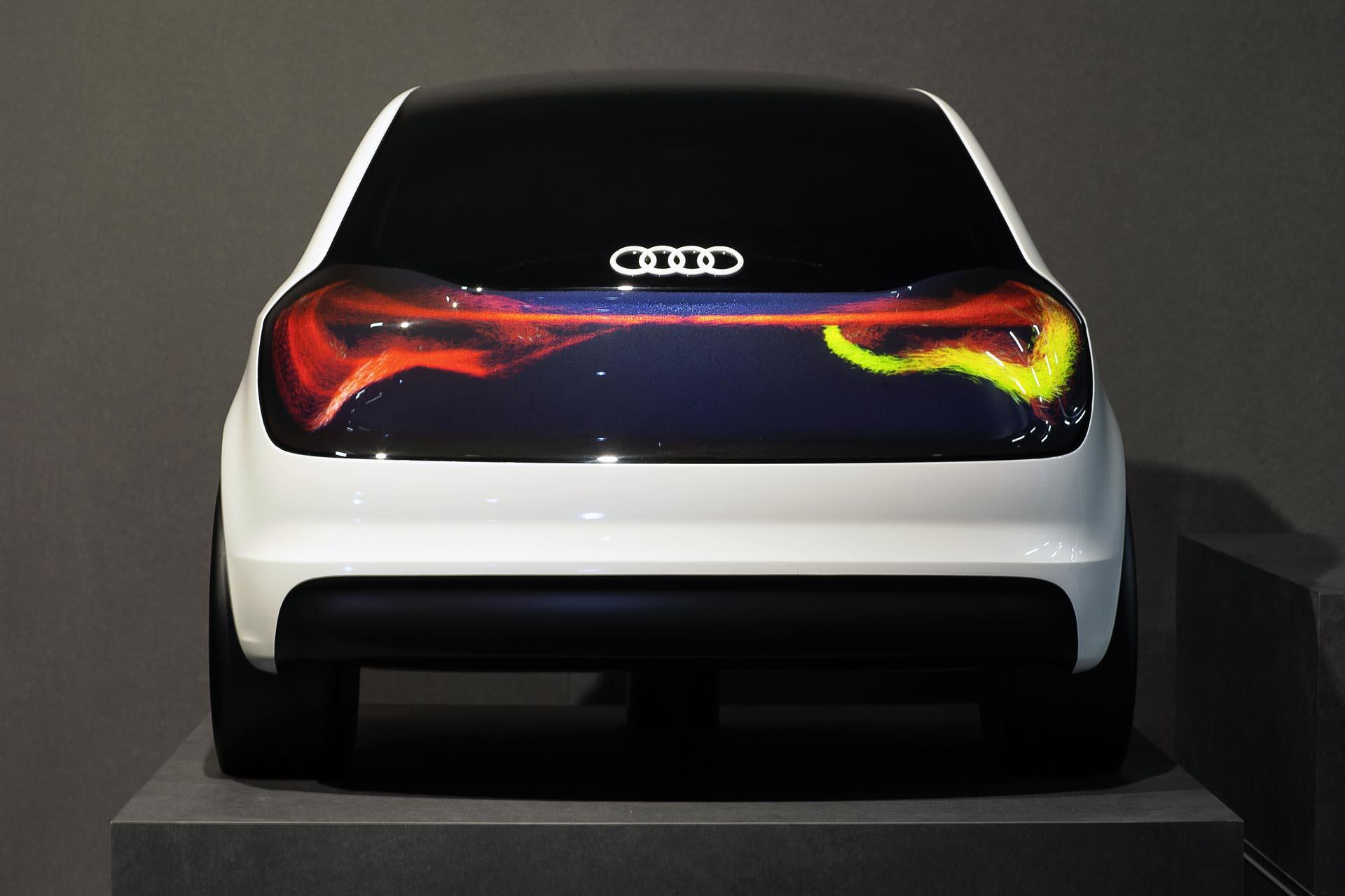 Audi Lighting Swarm Lighting Concept Autos Ca