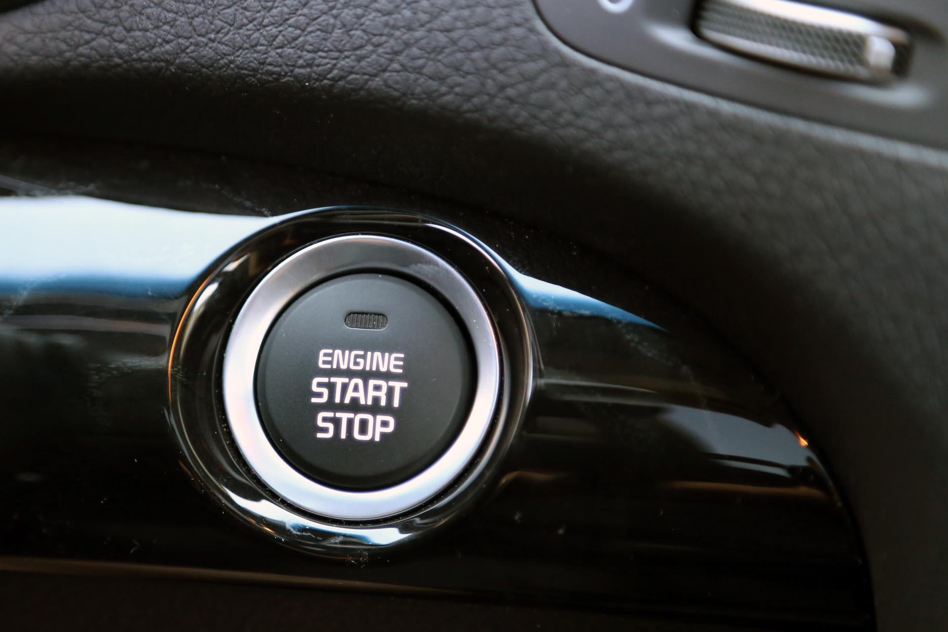 Kia Sorento: Engine startstop button