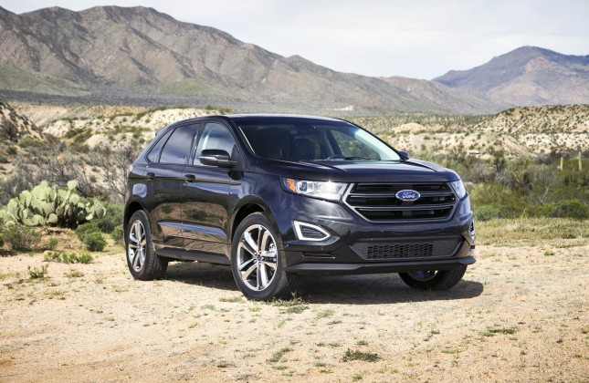first drive 2015 ford edge. Black Bedroom Furniture Sets. Home Design Ideas
