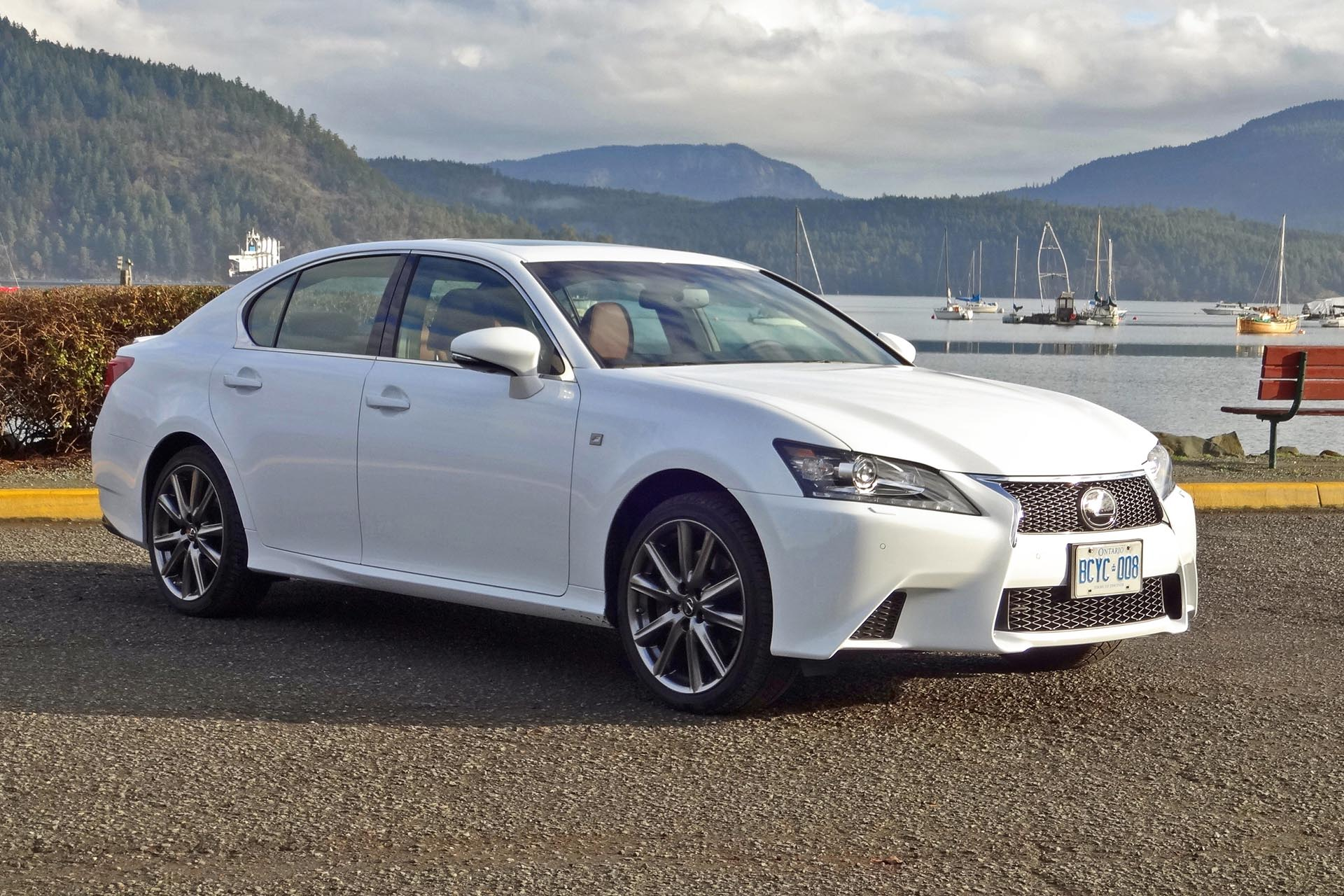 test drive 2015 lexus gs 350 awd f sport. Black Bedroom Furniture Sets. Home Design Ideas