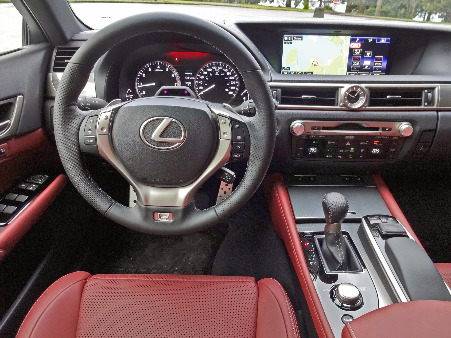 sport review lexus gs f awd