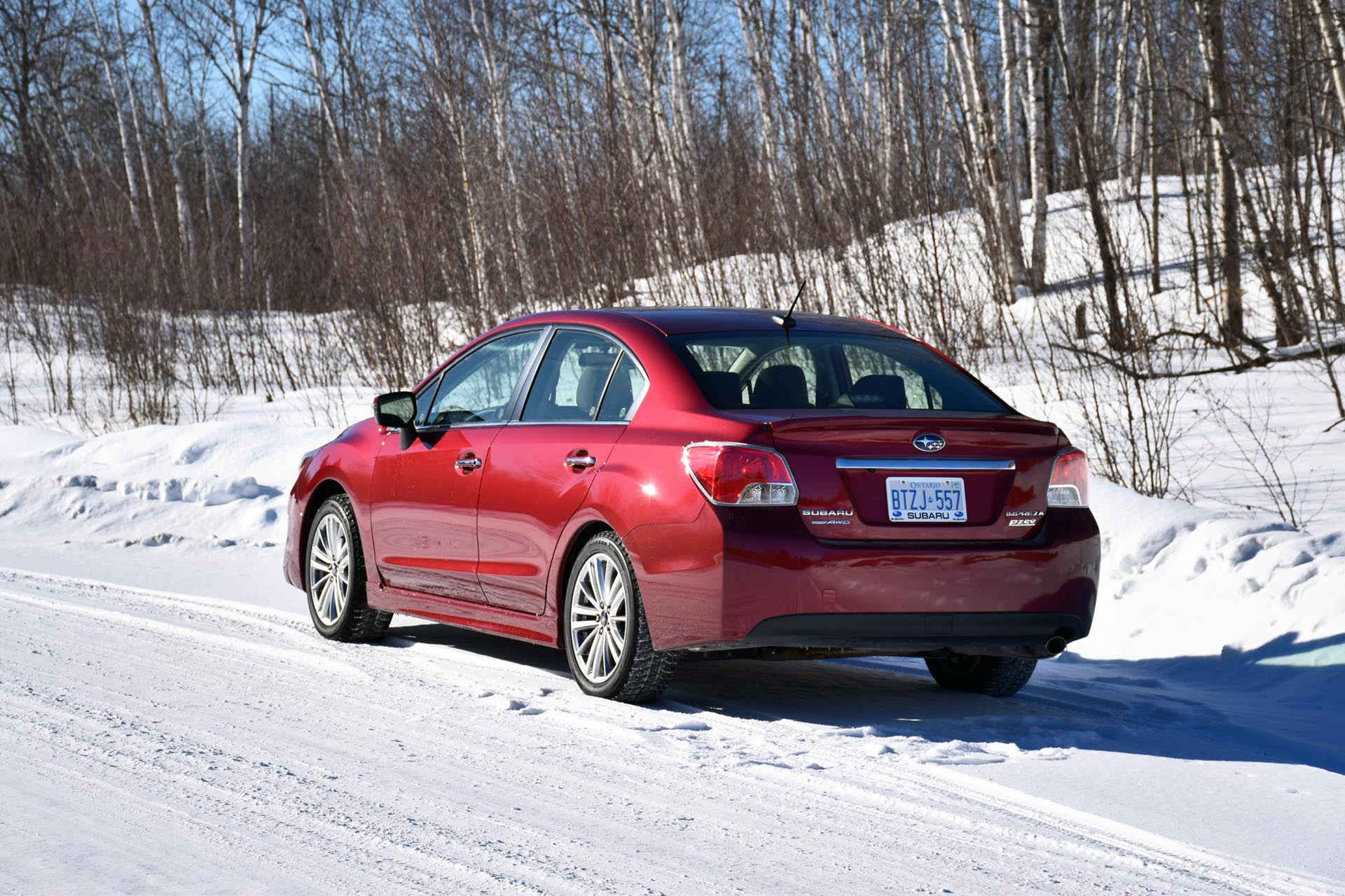 2015 Subaru Impreza Limited with Technology Option