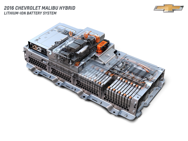 2016 Chevrolet Malibu Hybrid Lithium Ion Battery System