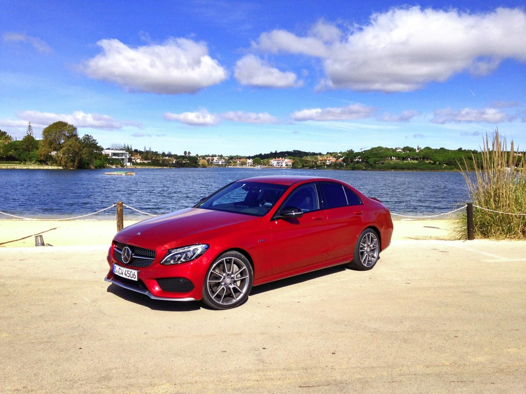 First drive 2016 mercedes benz c 450 amg page 3 of 3 for Mercedes benz 450