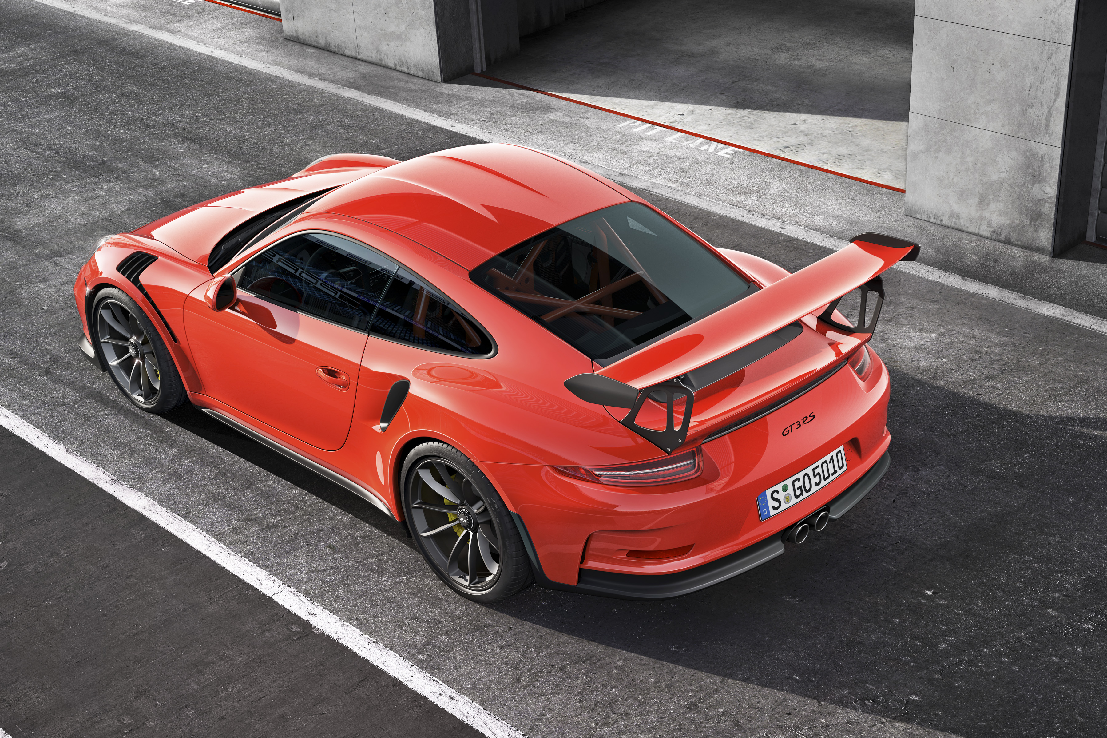 Porsche Lifts The Lid On 911 Gt3 Rs At Geneva Autos Ca