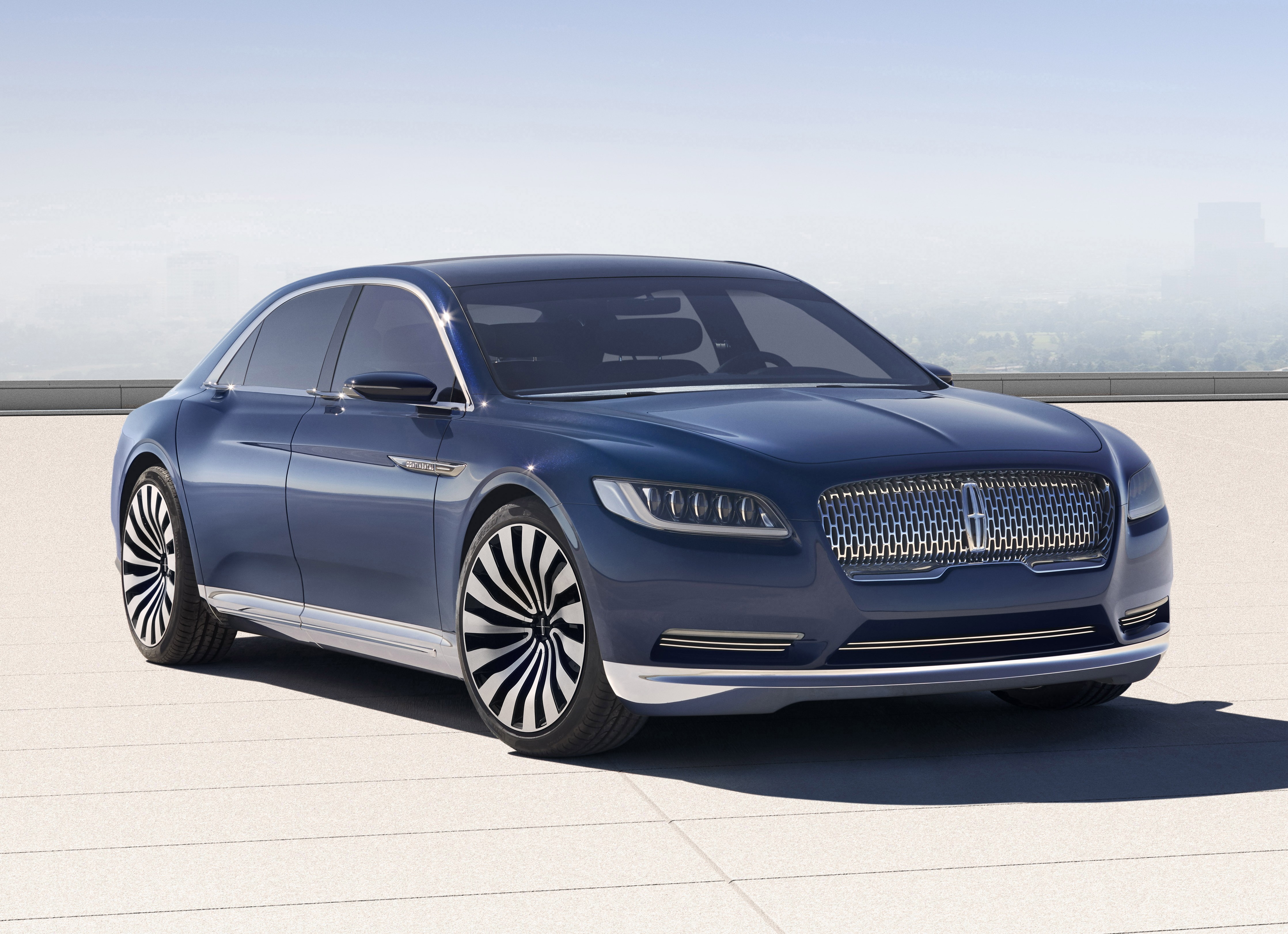 lincoln continental concept signals forthcoming full size sedan. Black Bedroom Furniture Sets. Home Design Ideas