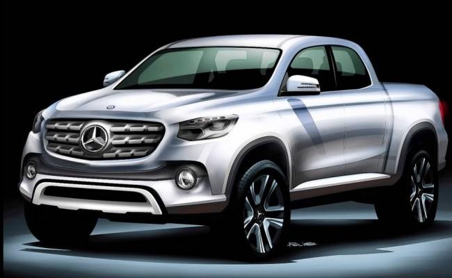 Mercedes-Benz pickup rendering