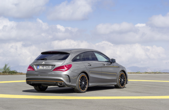 Forbidden fruit mercedes gets set to launch cla shooting for Mercedes benz orlando north