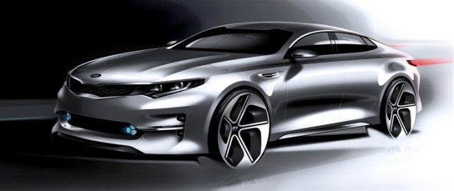 2016 Kia Optima Concept Sketch