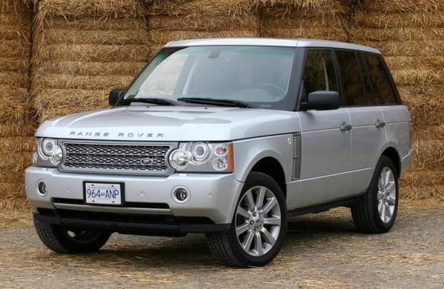 2008 land rover range rover supercharged for sale test. Black Bedroom Furniture Sets. Home Design Ideas