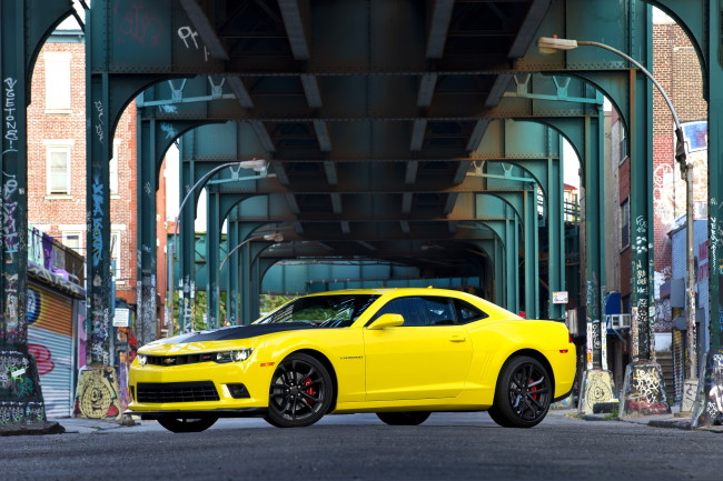 2015 Chevrolet Camaro with available 1LE Package