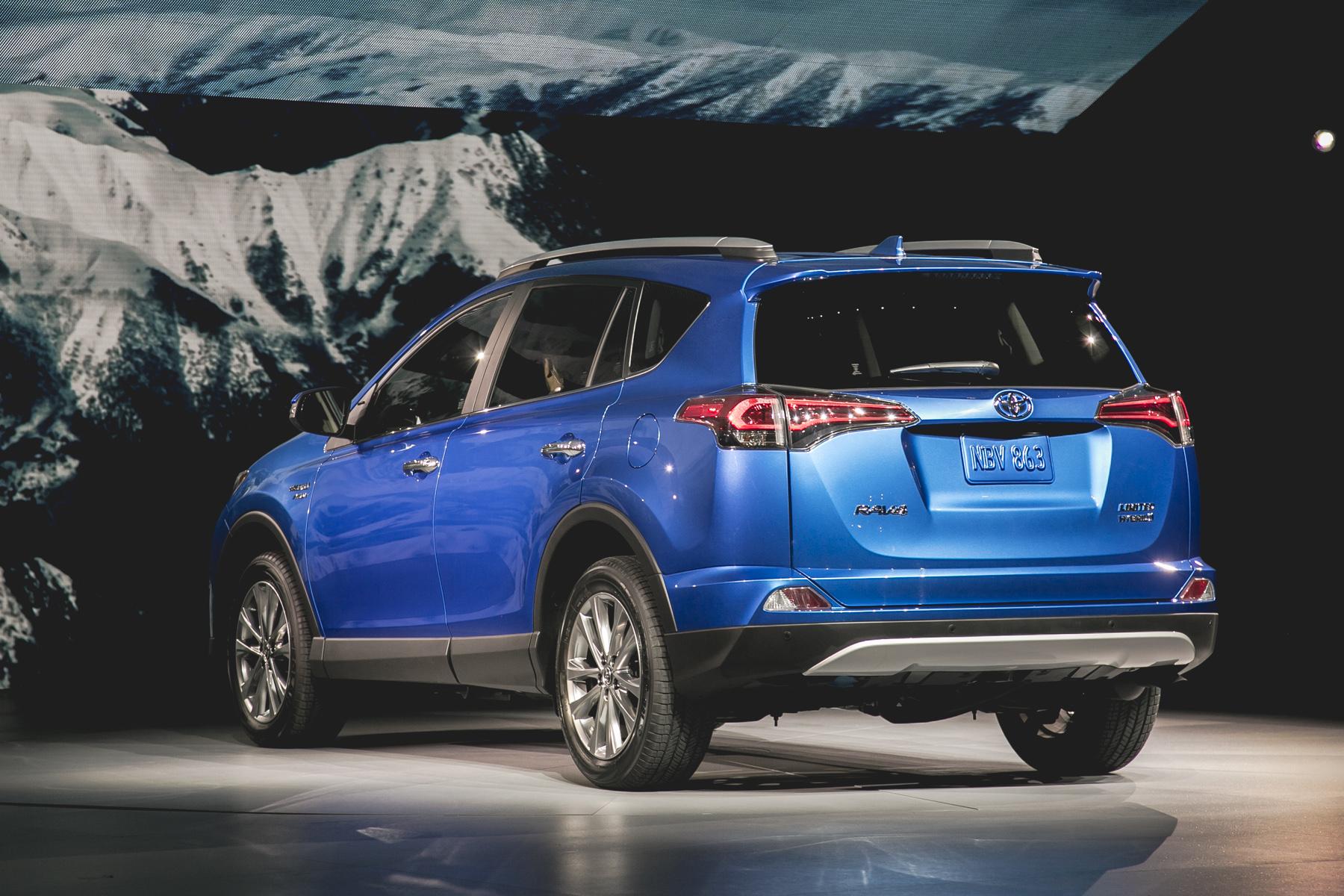 2016 Toyota Rav4 Hybrid Autos Ca