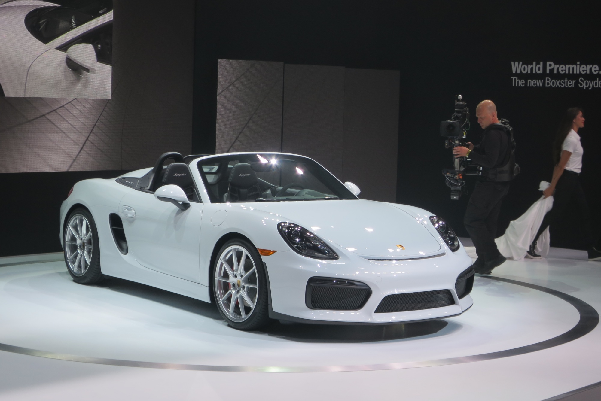 New York Porsche Goes Old School with Boxster Spyder