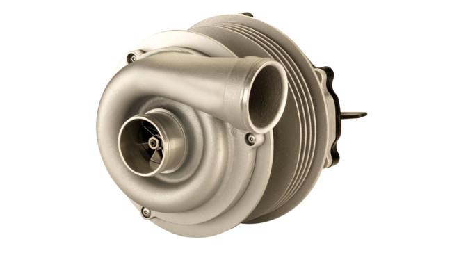 Valeo electric turbocharger