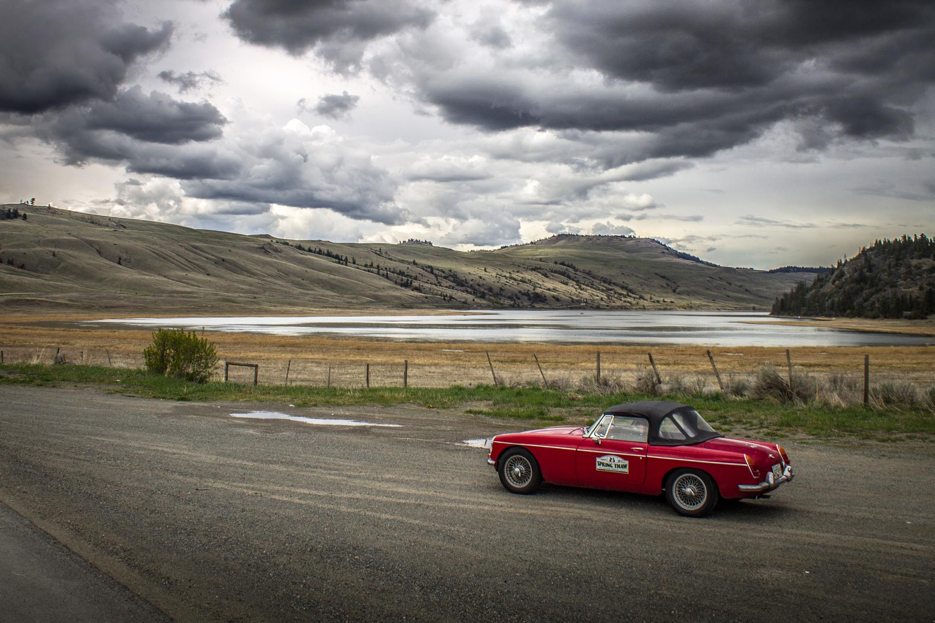1967 MG MGB Road Trip