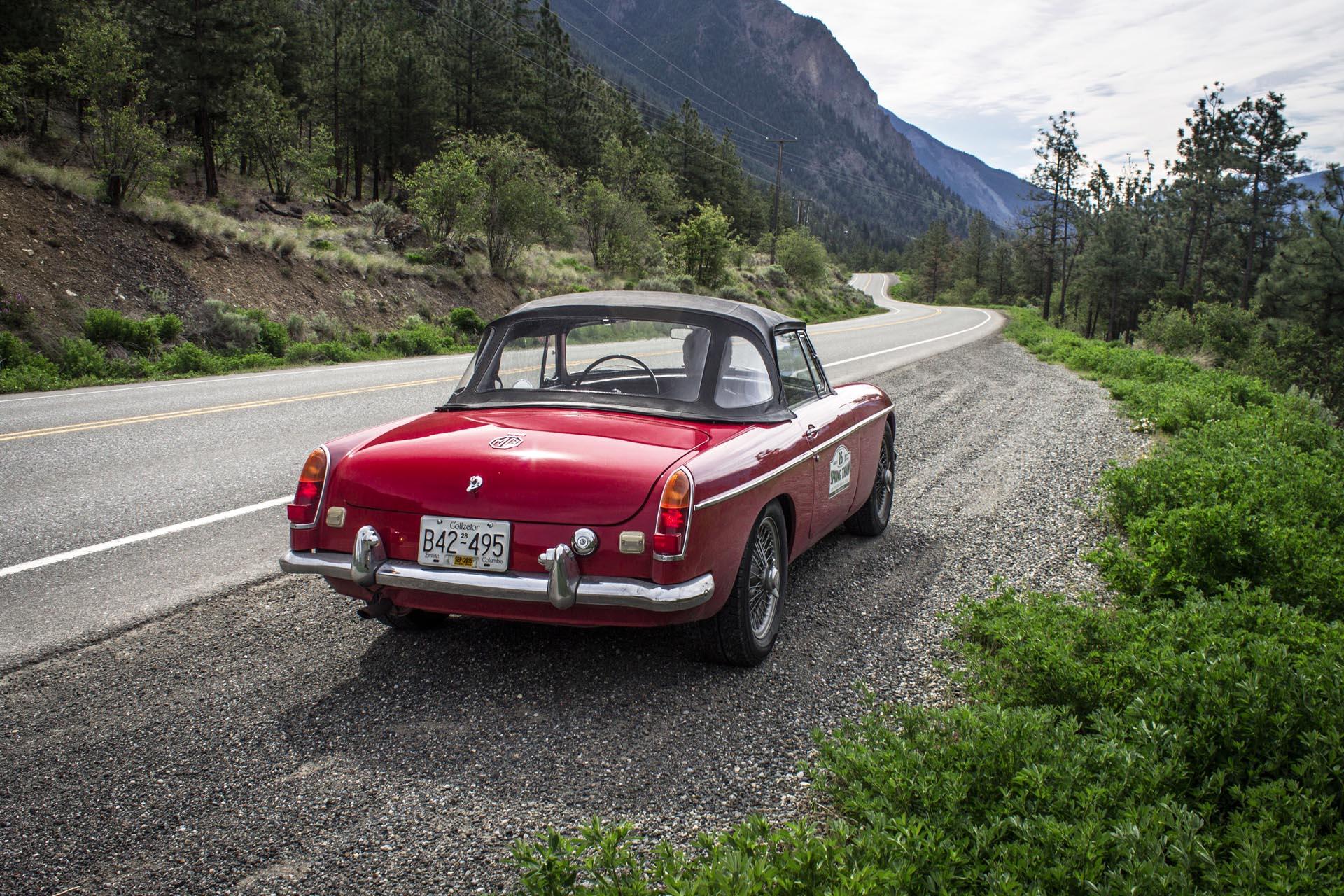 1967 MG MGB Road Trip
